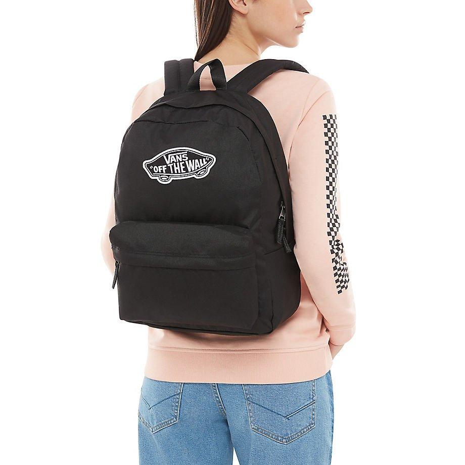 043a12b2abe41 Kliknij, aby powiększyć; Plecak VANS Realm Backpack - VN0A3UI6BLK + Worek  Torba ...