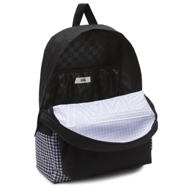 267c09ad61c5 Plecak VANS Realm Flying V Backpack - Houndstooth Black White ...