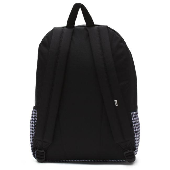 94fd9938d9b6d Kliknij, aby powiększyć; Plecak VANS Realm Flying V Backpack - Houndstooth  Black/White ...
