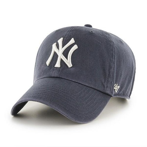 Czapka 47 Brand NY Yankees Clean Up Strapack Vintage Navy - B-RGW17GWSNL-VN