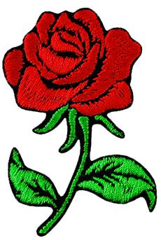 Plecak szkolny VANS Realm Backpack Custom Red Rose róża VN0A3UI6BLK